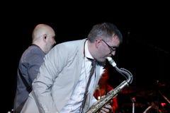 Συναυλία Mezzoforte στην Ουγγαρία Στοκ Εικόνες
