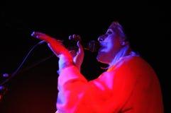 Συναυλία ζωνών EL Perro del Mar στη Βαρκελώνη Στοκ εικόνες με δικαίωμα ελεύθερης χρήσης