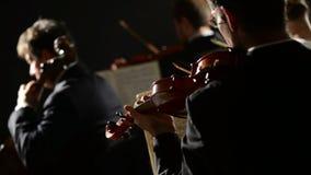 Συναυλία κλασικής μουσικής απόθεμα βίντεο