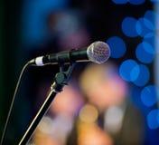 Συναυλία μικροφώνων στοκ εικόνες