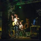 Συναυλία μουσικής ροκ Στοκ εικόνες με δικαίωμα ελεύθερης χρήσης