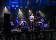 Συναυλία μουσικής ροκ Στοκ φωτογραφία με δικαίωμα ελεύθερης χρήσης