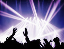 Συναυλία μουσικής στοκ εικόνες με δικαίωμα ελεύθερης χρήσης