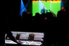 Συναυλία νυχτερινών κέντρων διασκέδασης Στοκ Φωτογραφία