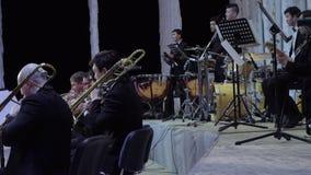 Συναυλία ορχηστρών Philarmonic απόθεμα βίντεο