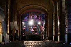 συναυλία παρασκηνίων Στοκ φωτογραφία με δικαίωμα ελεύθερης χρήσης