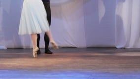 Συναυλία ποδιών ζευγαριού μπαλέτου φιλμ μικρού μήκους