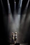 Συναυλία σε Harpa Στοκ φωτογραφίες με δικαίωμα ελεύθερης χρήσης