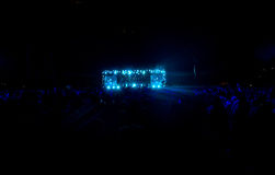 Συναυλία στο στάδιο Στοκ εικόνες με δικαίωμα ελεύθερης χρήσης