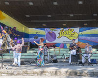 Συναυλία στο montreux Στοκ Φωτογραφίες