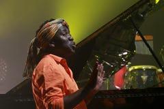 Συναυλία του Richard Bona στην Ουγγαρία Στοκ Εικόνες