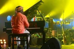 Συναυλία του Richard Bona στην Ουγγαρία Στοκ Εικόνα
