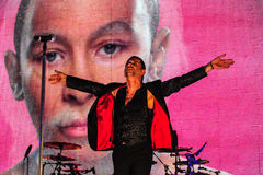 Συναυλία τρόπου Depeche Στοκ Φωτογραφίες