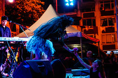 Συναυλία φεστιβάλ 19 Μαΐου νεολαίας και αθλητικής ημέρας Στοκ Εικόνες