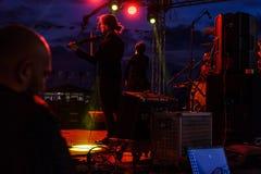 Συναυλία φεστιβάλ νεολαίας Sarp Aydilge στις 19 Μαΐου Στοκ Φωτογραφία