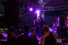 Συναυλία φεστιβάλ νεολαίας Sarp Aydilge στις 19 Μαΐου Στοκ φωτογραφία με δικαίωμα ελεύθερης χρήσης