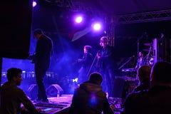 Συναυλία φεστιβάλ νεολαίας Sarp Aydilge στις 19 Μαΐου Στοκ Εικόνες