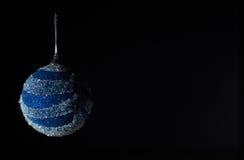 Συναυλία Χριστουγέννων με τα μπλε εξαρτήματα Στοκ φωτογραφίες με δικαίωμα ελεύθερης χρήσης