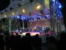 Συναυλία Χριστουγέννων, Betlehem, Παλαιστίνη Στοκ εικόνα με δικαίωμα ελεύθερης χρήσης