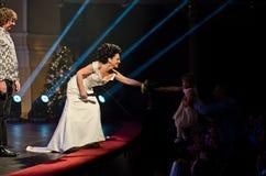 Συναυλία Χριστουγέννων - Lucie Bila Στοκ εικόνα με δικαίωμα ελεύθερης χρήσης