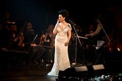 Συναυλία Χριστουγέννων - Lucie Bila Στοκ Εικόνες