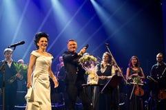 Συναυλία Χριστουγέννων - Lucie Bila Στοκ Εικόνα