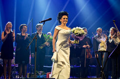 Συναυλία Χριστουγέννων - Lucie Bila Στοκ φωτογραφίες με δικαίωμα ελεύθερης χρήσης