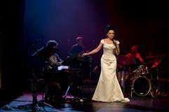 Συναυλία Χριστουγέννων - Lucie Bila Στοκ εικόνες με δικαίωμα ελεύθερης χρήσης