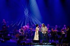 Συναυλία Χριστουγέννων - Lucie Bila Στοκ φωτογραφία με δικαίωμα ελεύθερης χρήσης