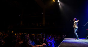 Συναυλία Χριστουγέννων - Peter Aristone Στοκ Φωτογραφία