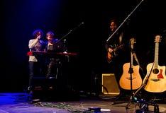 Συναυλία Χριστουγέννων - Peter Aristone Στοκ εικόνες με δικαίωμα ελεύθερης χρήσης