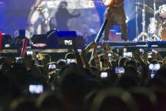 συναυλία Στοκ φωτογραφίες με δικαίωμα ελεύθερης χρήσης