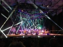 Συναυλία Acustic στο δάσος Στοκ Εικόνα