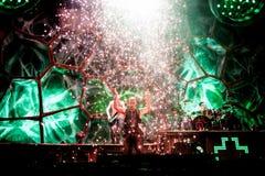 Συναυλία Rammstein Στοκ Φωτογραφίες
