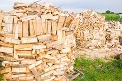 Συνδέεται ένα ναυπηγείο ξυλείας Στοκ Εικόνα
