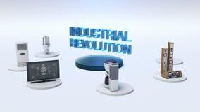 ` Συνδέοντας όργανο ελέγχου ΒΙΟΜΗΧΑΝΙΚΏΝ ΕΠΑΝΑΣΤΆΣΕΩΝ `, μικρόκυμα, λάμπα φωτός, πλυντήριο, έξυπνες εγχώριες συσκευές, Διαδίκτυο  απεικόνιση αποθεμάτων