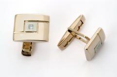 συνδέσεις διαμαντιών μανσετών στοκ εικόνες με δικαίωμα ελεύθερης χρήσης