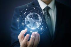 Συνδέσεις παγκόσμιων δικτύων στοκ φωτογραφία