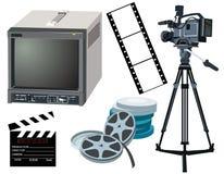 συνδέστε τον κινηματογρά& Στοκ Εικόνες