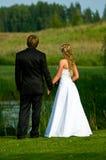 συνδέστε το γάμο στοκ φωτογραφίες
