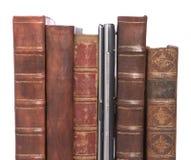 συνδεδεμένο βιβλία δέρμα Στοκ φωτογραφία με δικαίωμα ελεύθερης χρήσης