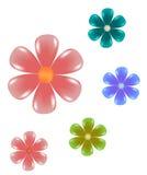 συνδετήρας τέχνης floral Στοκ Εικόνες