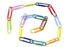 συνδετήρες αλυσίδων Στοκ Φωτογραφία
