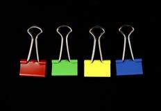 συνδετήρες συνδέσμων στοκ εικόνα με δικαίωμα ελεύθερης χρήσης