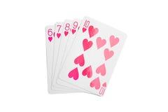 Συνδυασμός πόκερ Στοκ Φωτογραφίες