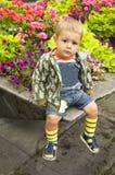 συνεδρίαση μωρών Στοκ εικόνες με δικαίωμα ελεύθερης χρήσης