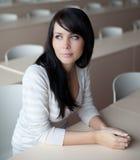 Συνεδρίαση σπουδαστών σε ένα classroo Στοκ εικόνες με δικαίωμα ελεύθερης χρήσης