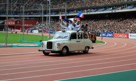 ΣΥΝΕΔΡΙΑΣΗ AREVA, ένωση διαμαντιών του Παρισιού IAAF Στοκ εικόνες με δικαίωμα ελεύθερης χρήσης