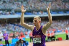 ΣΥΝΕΔΡΙΑΣΗ AREVA, ένωση διαμαντιών του Παρισιού IAAF Στοκ Εικόνα