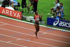 ΣΥΝΕΔΡΙΑΣΗ AREVA, ένωση διαμαντιών του Παρισιού IAAF Στοκ φωτογραφίες με δικαίωμα ελεύθερης χρήσης